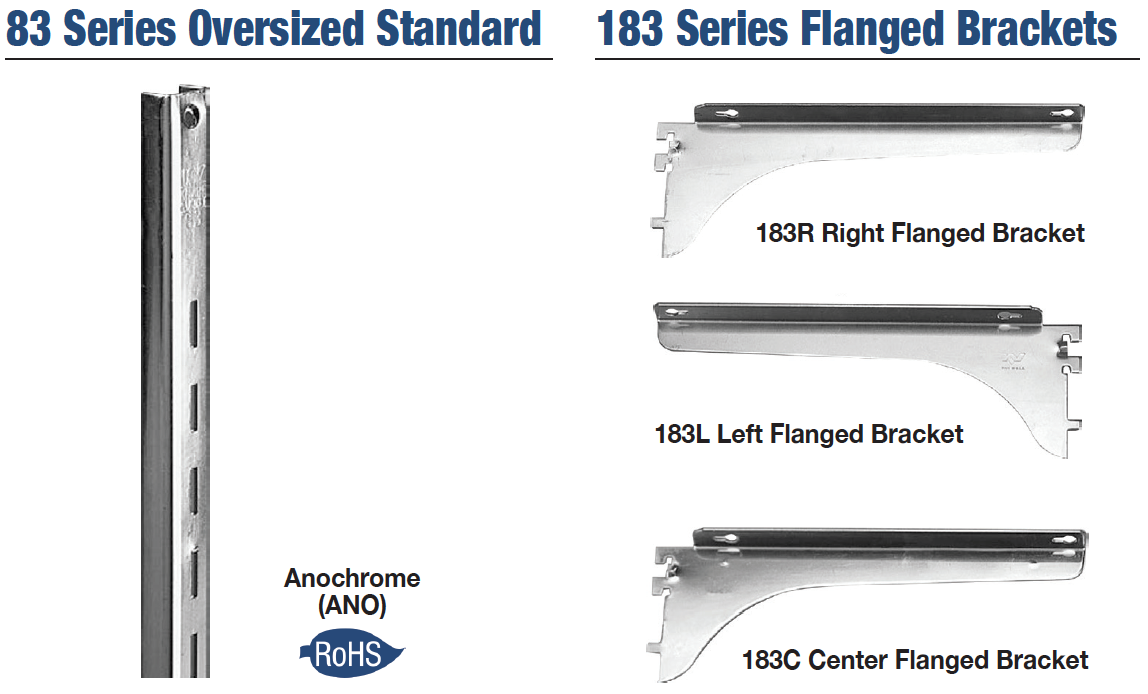 KV 83 & 183 Series Standards and Brackets image