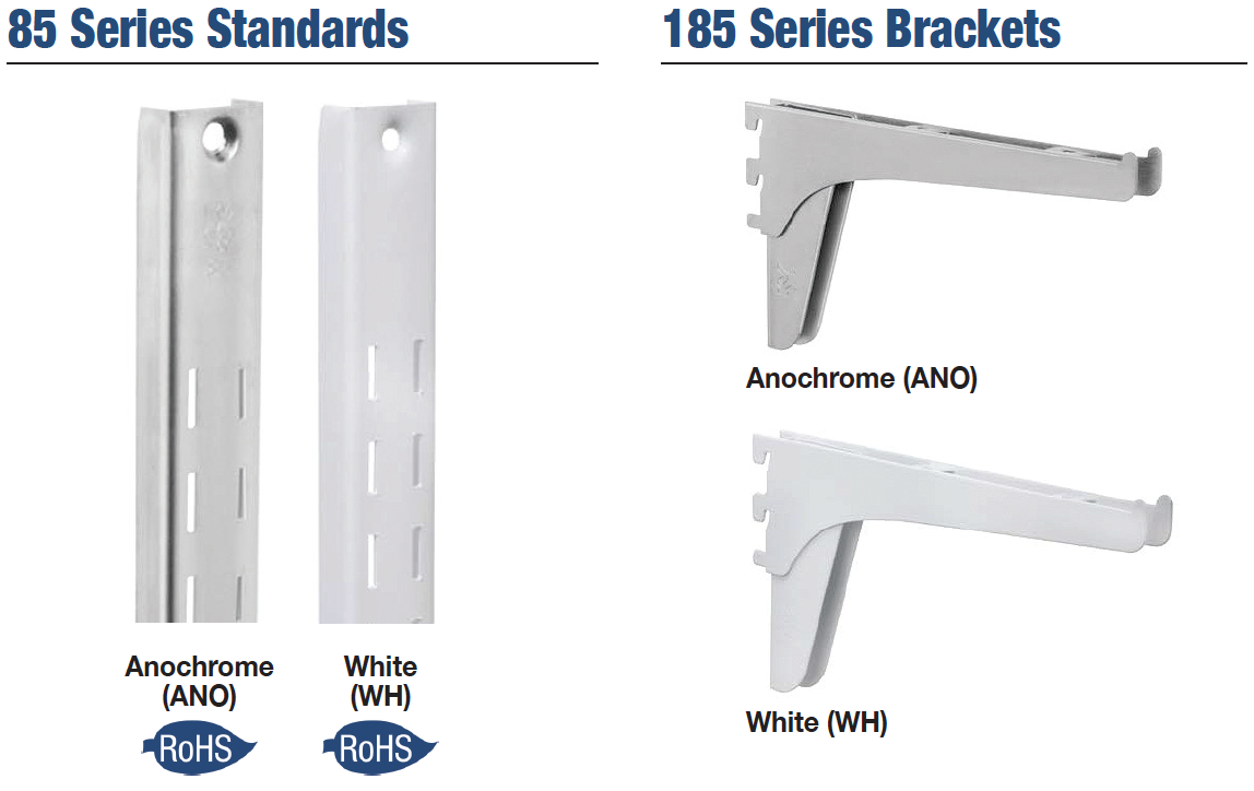 KV 85 & 185 Series Standards and Brackets image