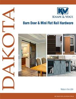 KV Barn Door and Mini Flat Rail catalog thumbnail