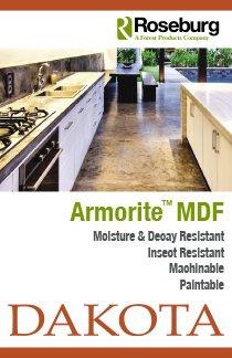 Roseburg Armorite MDF Postcard